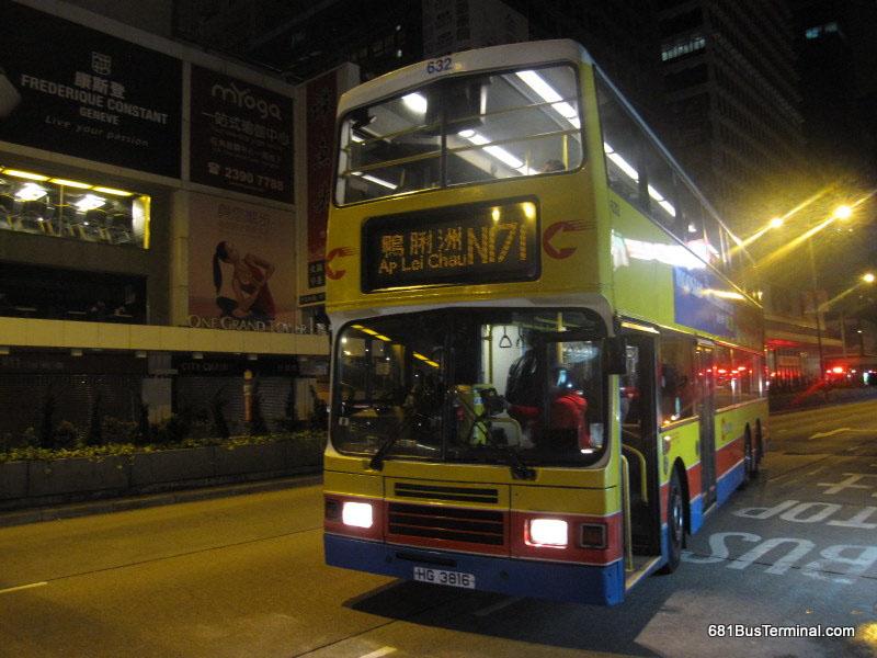 本线初时总站设於海怡半岛及长沙湾广场,行车路线与171号线大致相同